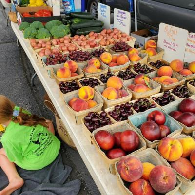 Fresh Fruit Summer Market